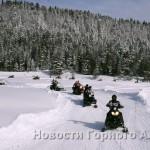 В гонках на снегоходах приняли участие 23 человека