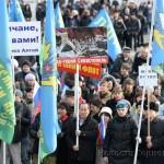 В Горно-Алтайске прошел «крымский» митинг