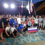 На чемпионате Европы команда ГАГУ по рафтингу завоевала золото в параллельном спринте (фото)