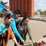 Представители алтайского землячества в Москве возложили цветы к памятнику воинам-сибирякам (фото)