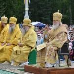 Патриарх Кирилл провел богослужение на центральной площади Горно-Алтайска (фото)