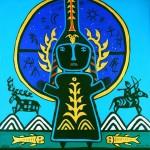 Берлинский художник нарисовал «Принцесс Алтая»