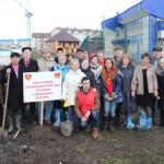 В День комсомола в Горно-Алтайске заложили аллею (фото)