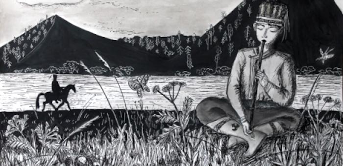 Горно-алтайская художница стала финалисткой фестиваля одаренных детей «Уникум»