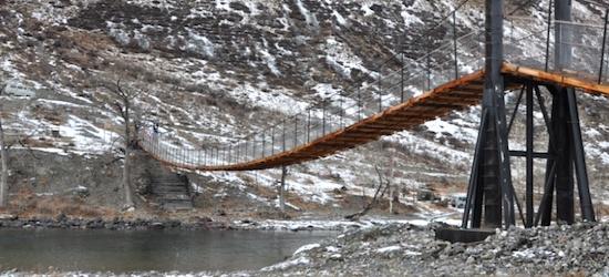Открыт новый пешеходный мост через Чулышман