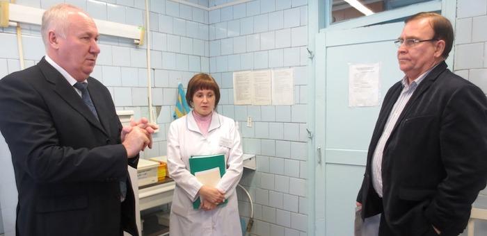 Министр здравоохранения проинспектировал работу медицинских учреждений Майминского района