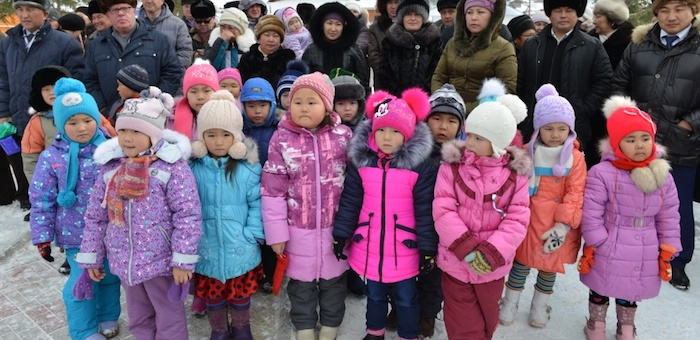 Новый детсад открылся в Усть-Кане
