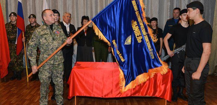 Военно-патриотический центр «Вымпел» получил знамя