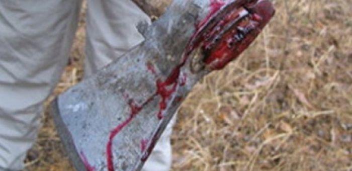 Житель Толгоека напал на знакомого с топором
