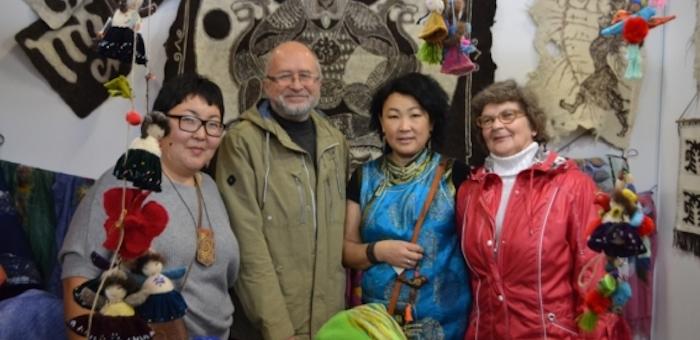 Алтайские мастера приняли участие в выставке в Казани