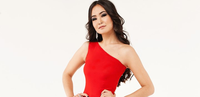 Алина Аларушкина участвует в конкурсе «Мисс Азия СПб»