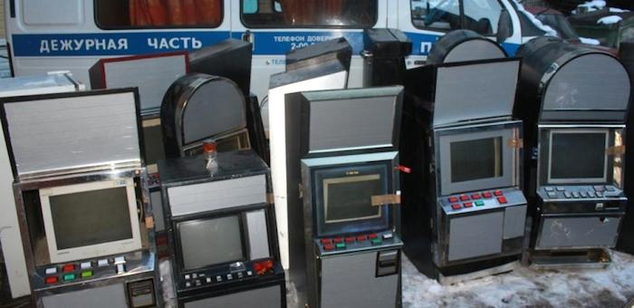 В Горно-Алтайске изъяли 14 игровых автоматов