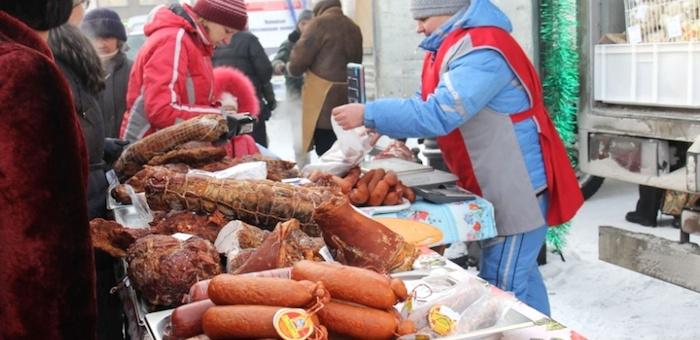 На сельскохозяйственной ярмарке продали 27 тонн мяса