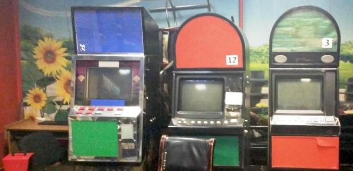 В Горно-Алтайске изъято десять игровых автоматов