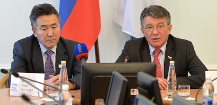 Сенатор призвал горно-алтайских единороссов не допускать внутрипартийных конфликтов