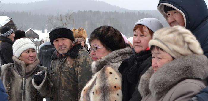 Тубалары выступили против вырубки кедра на горе Урчин