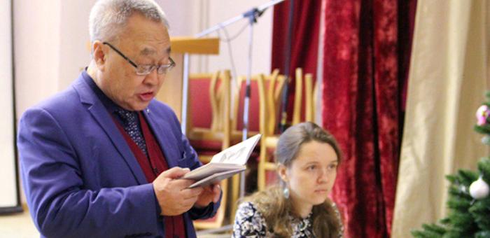 В Новосибирске презентовали поэтический сборник «Боевые песни Ойрота» (фото)