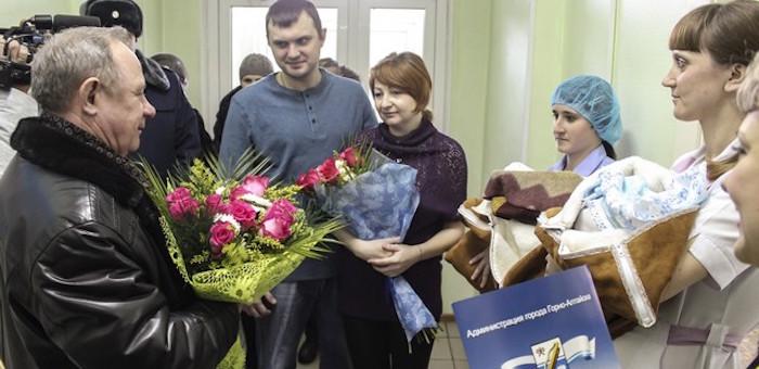 Первая в этом году двойня родилась в Горно-Алтайске
