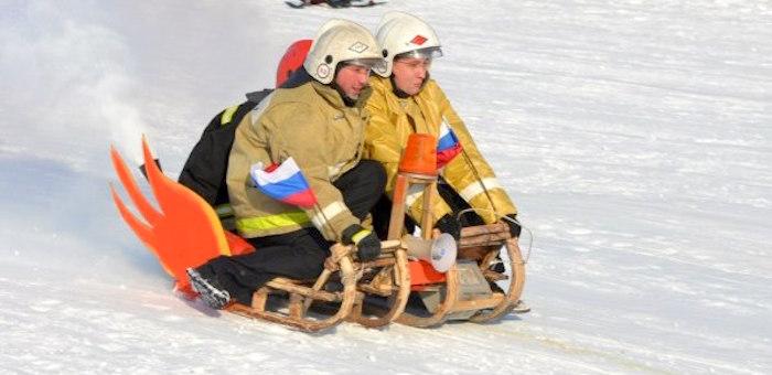 В Горно-Алтайске выберут самые патриотичные сани