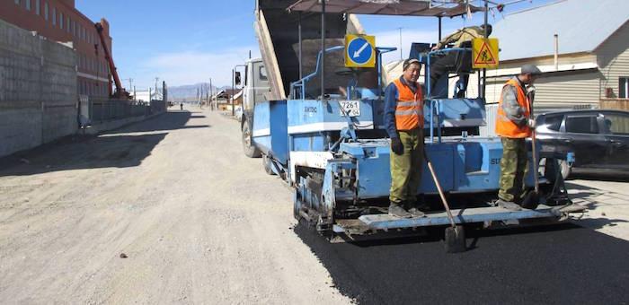 Парковка и дорога у кош-агачской полиции были построены еще летом (фото)