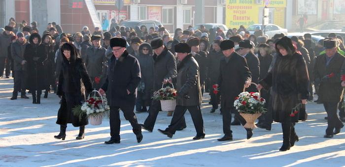 Память Чорос-Гуркина почтили в Горно-Алтайске