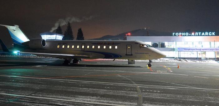 Полеты из Тюмени в Горно-Алтайск приостановлены