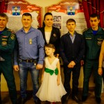 Олега Анохина из Алферово наградили за спасение ребенка