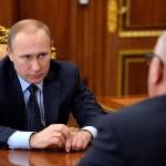 Президент Путин провел рабочую встречу с Бердниковым