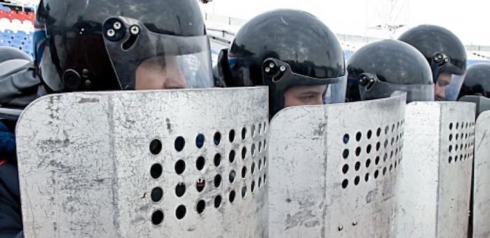 Полицейских научили пресекать массовые беспорядки