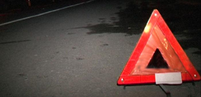 Водитель на Audi сбил пешехода и скрылся с места аварии
