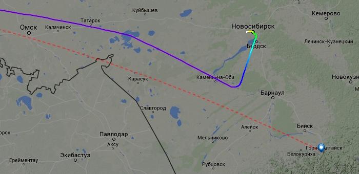 Прибытие московского рейса задержалось из-за непогоды