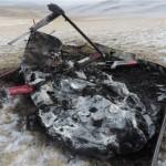 МАК завершил расследование крушения вертолета в Кош-Агачском районе (фото)
