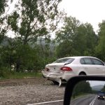 Пьяный водитель «Кадиллака» устроил аварию в Майминском районе (фото)