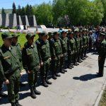 В Горно-Алтайске состоялась торжественная отправка призывников в ракетные войска (фото)