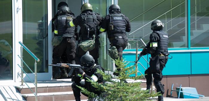 Антитеррористические учения показали, что граждане на Алтае не очень бдительные