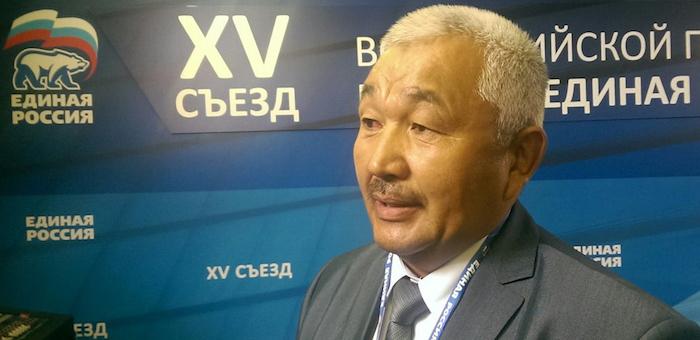 Съезд «Единой России»: Букачаков выдвинут в Госдуму по округу, Белеков – по партсписку