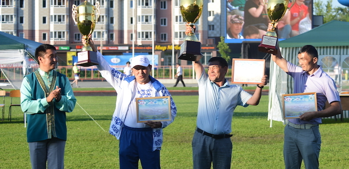 Спортсмены Онгудайского района одержали победу в общекомандном первенстве на Эл Ойыне