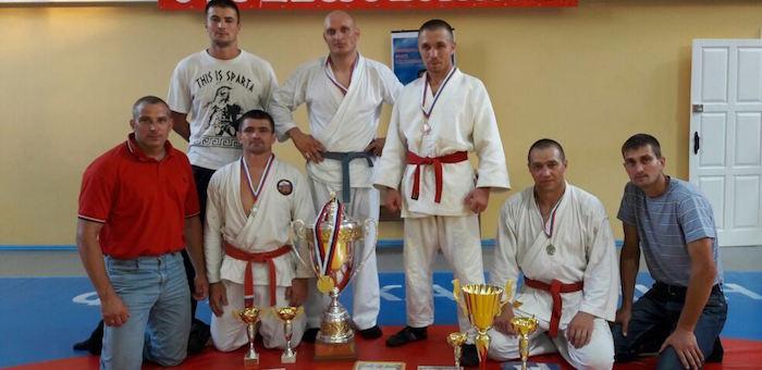 Команда из Республики Алтай победила в чемпионате УФСИН по рукопашному бою