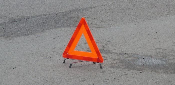 Водитель сбил пешехода и скрылся с места аварии
