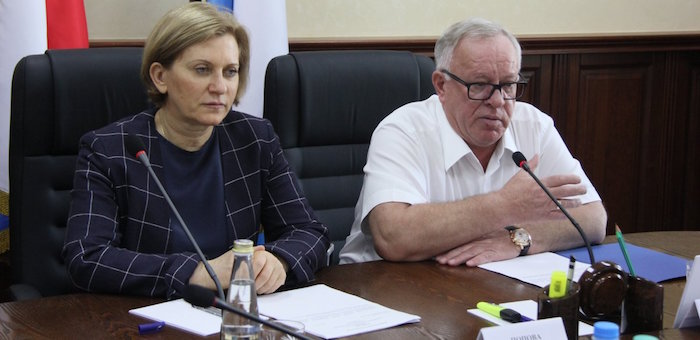 Главный санитарный врач России посетила Республику Алтай