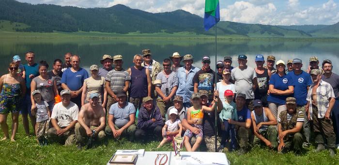 В Теньге прошли соревнования по ловле окуня
