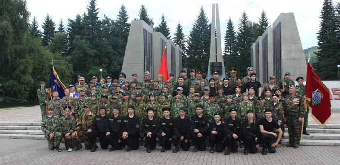Дети из всех районов приняли участие в смене «Рубеж-2016»