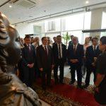 Бронзовый бюст императрицы Елизаветы установили в музее