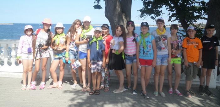 150 детей из Горного Алтая отдохнули в Крыму