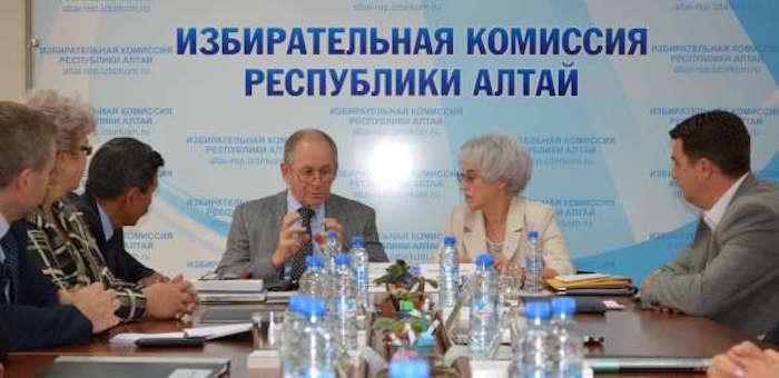 Горный Алтай посетил представитель Центризбиркома
