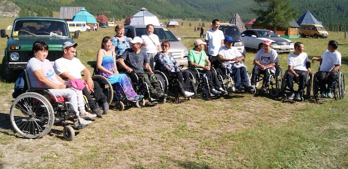 Фестиваль для людей с ограниченными возможностями прошел в Горном Алтае