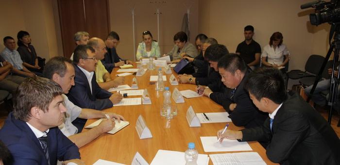 Делегация Алтайского округа СУАР посетила Горный Алтай