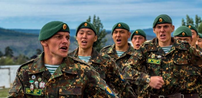 Горно-алтайские студенты участвуют во всероссийской «Зарнице»