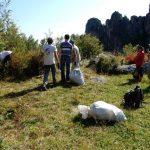 Бабырган очистили от мусора (фото)