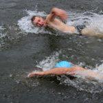На Телецком озере прошли соревнования по плаванию